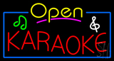 Karaoke Open Neon Sign