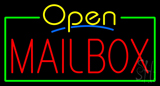 Mailbox Open Neon Sign