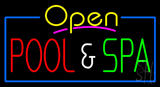 Open Pool and Spa Neon Sign