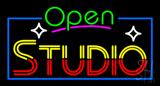 Open Studio Neon Sign