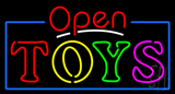 Open Toys Neon Sign