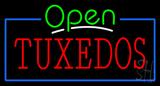 Tuxedos Open Neon Sign