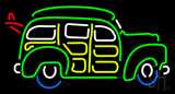 Surfin Woody Wagon LED Neon Sign