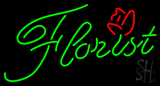 Green Florist LED Neon Sign