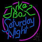 Juke Box Saturday Night LED Neon Sign