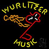 Wurlitzer Music LED Neon Sign
