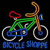 Bicycle Shoppe LED Neon Sign