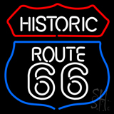 Historic Route 66 LED Neon Sign