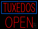 Tuxedos Block Open LED Neon Sign