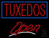 Tuxedos Script2 Open LED Neon Sign