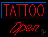Tattoo Open LED Neon Sign
