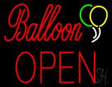 Balloon Block Open LED Neon Sign