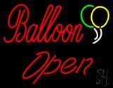 Balloon Open LED Neon Sign
