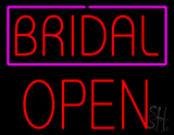 Bridal Block Open LED Neon Sign