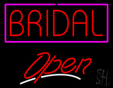 Block Bridal Open LED Neon Sign