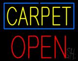 Carpet Block Open LED Neon Sign