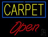 Carpet Script1 Open LED Neon Sign
