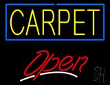 Carpet Script2 Open LED Neon Sign