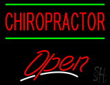 Chiropractor Open LED Neon Sign
