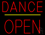 Dance Block Open Yellow Line LED Neon Sign