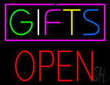 Gifts Block Open LED Neon Sign
