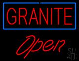 Granite Script1 Open LED Neon Sign