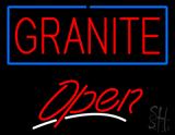 Granite Script2 Open LED Neon Sign