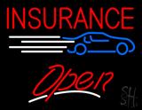 Car Insurance Open LED Neon Sign