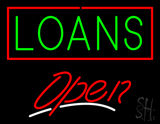 Loans Open LED Neon Sign