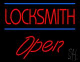 Locksmith Script1 Open LED Neon Sign