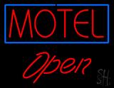 Motel Open LED Neon Sign