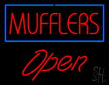 Mufflers Open LED Neon Sign