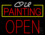 Oil Painting Block Open LED Neon Sign