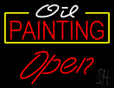 Oil Painting Open LED Neon Sign