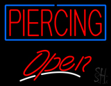 Piercing Open LED Neon Sign