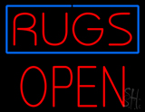 Rugs Block Open LED Neon Sign