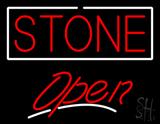 Stone Script2 Open LED Neon Sign