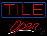Tile Script2 Open LED Neon Sign
