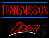 Red Transmission Open LED Neon Sign