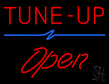 Red Tune-Up Open LED Neon Sign