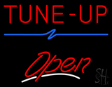 Tune-Up Open LED Neon Sign