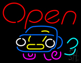 Car Open LED Neon Sign