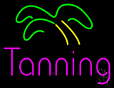 Pink Tanning Palm Tree LED Neon Sign