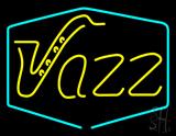 Yellow Jazz Room LED Neon Sign