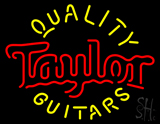 Taylor Quality Guitars LED Neon Sign