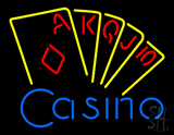 Casino Cards LED Neon Sign