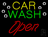Car Wash Open LED Neon Sign