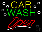 Car Wash Block Open LED Neon Sign