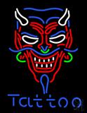 Devil Tattoo LED Neon Sign