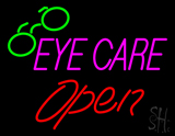 Pink Eye Care Red Open Logo LED Neon Sign